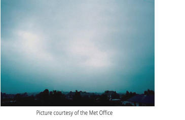 Picture courtesy of the Met Office